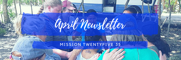 Mission 2535 April 2018 Newsletter